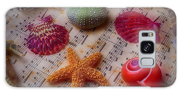 Starfish On Sheet Music Galaxy Case by Garry Gay