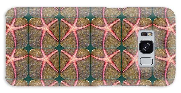 Starfish Pattern Galaxy Case
