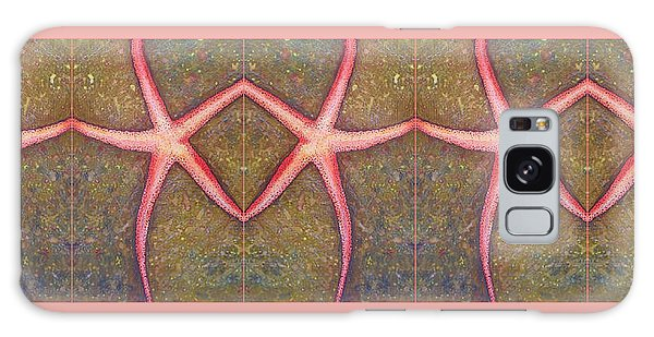 Starfish Pattern Bar Galaxy Case