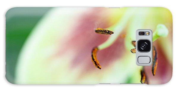 Stargazer Lily Galaxy Case by Marlo Horne