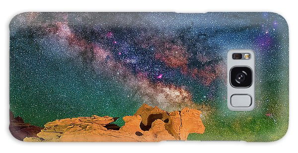 Stargazing Bull Galaxy Case