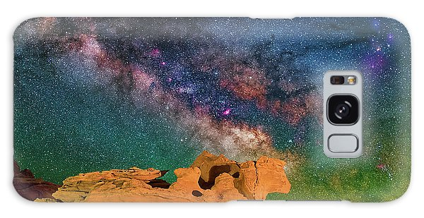 Stargazing Bull Galaxy Case