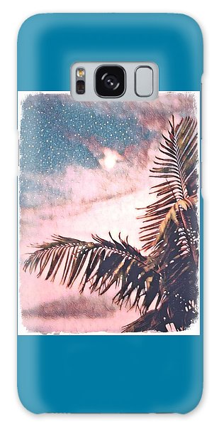 Starlight Palm Galaxy Case