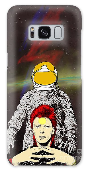 Starman Bowie Galaxy Case by Jason Tricktop Matthews