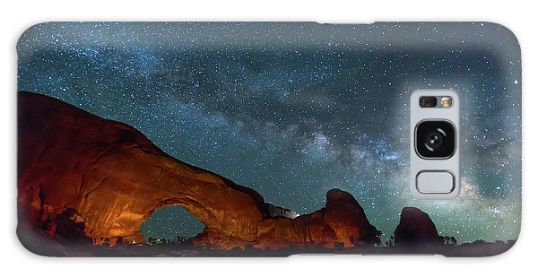 Starry Night At North Window Rock Galaxy Case