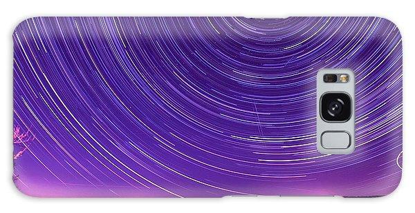 Starry Night Of Cayuga Lake Galaxy Case by Paul Ge