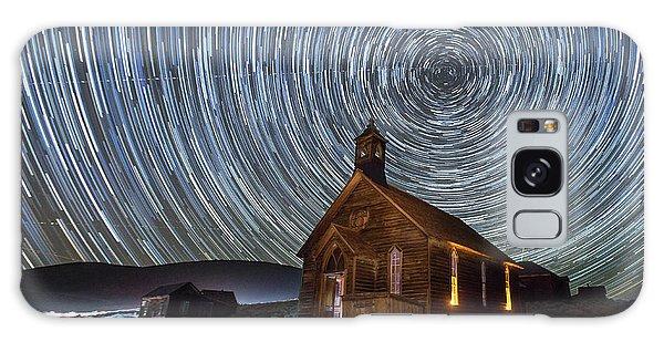 Bodie Galaxy Case - Starry Night Over Bodie Church by Jeff Sullivan