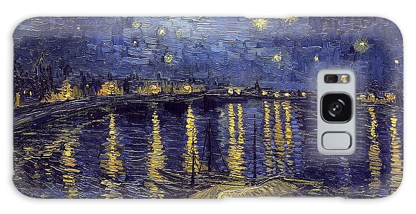 Galaxy Case featuring the painting Starry Night Over The Rhone by Van Gogh