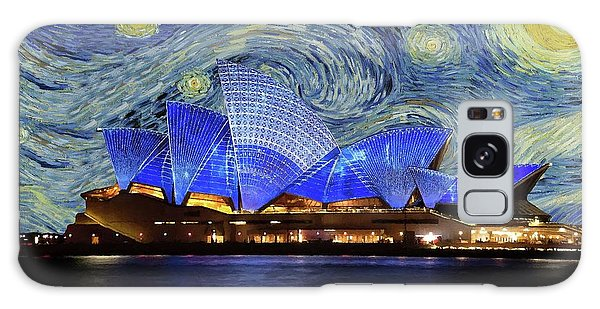 Starry Night Sydney Opera House Galaxy Case by Movie Poster Prints