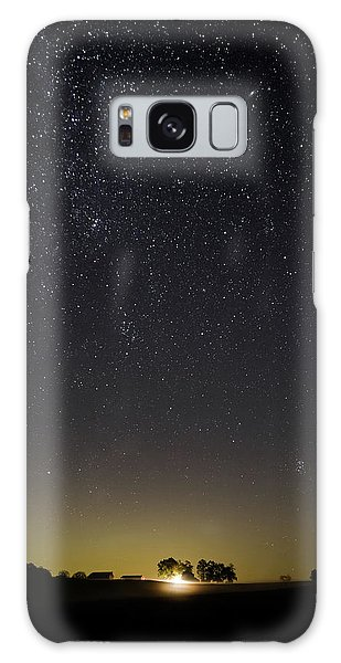 Starry Sky Over Virginia Farm Galaxy Case