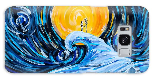 Starry Spiral Hill Night Galaxy Case by Marisela Mungia