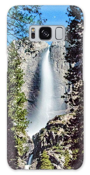 Starry Yosemite Falls Galaxy Case