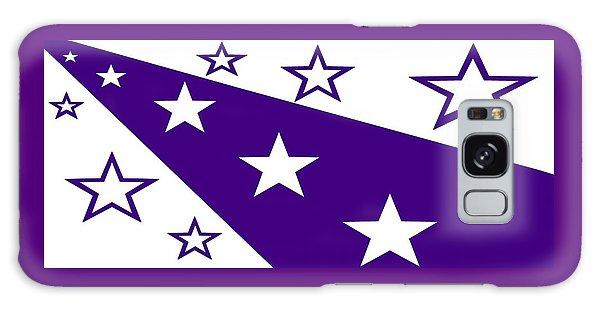 'stars 21' Or 'purple Stars' Galaxy Case by Linda Velasquez