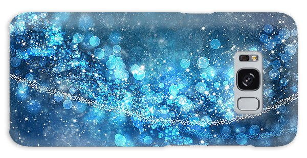 Stars And Bokeh Galaxy Case by Setsiri Silapasuwanchai