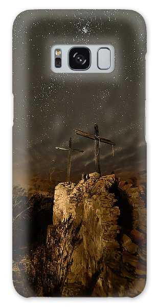 Stars And Crosses Galaxy Case