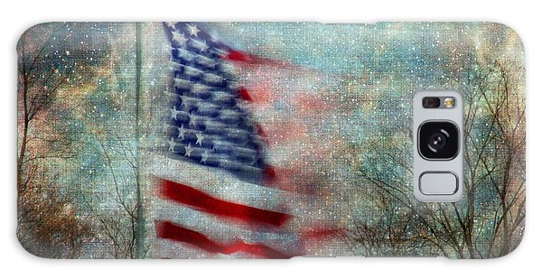 Stars And Stripes American Flag Artistic Liberty Galaxy Case
