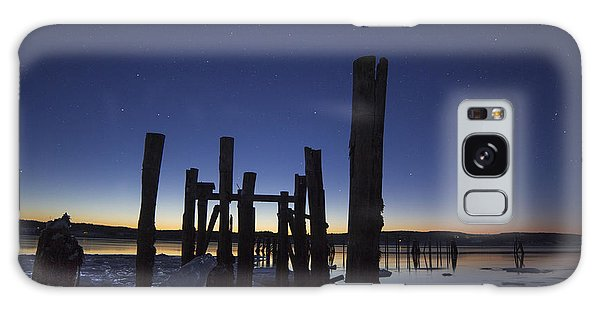 Stars At Sandy Point Sunrise  Galaxy Case