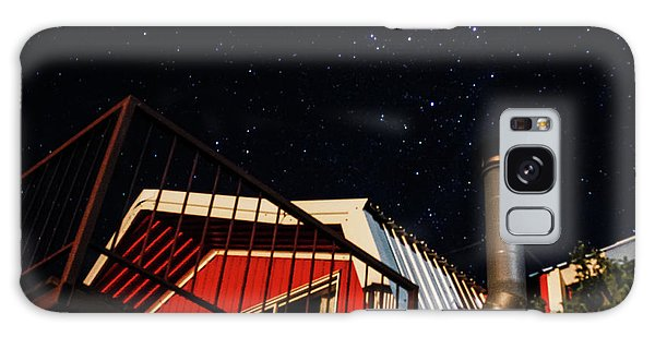Stars Over Gila Cottage Galaxy Case
