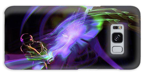 Starship Saxophone Galaxy Case by DC Langer