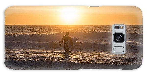 Start The Day Surfing Galaxy Case