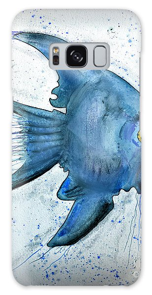 Startled Fish Galaxy Case