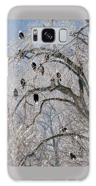 Starved Rock Eagles Galaxy Case by Paula Guttilla