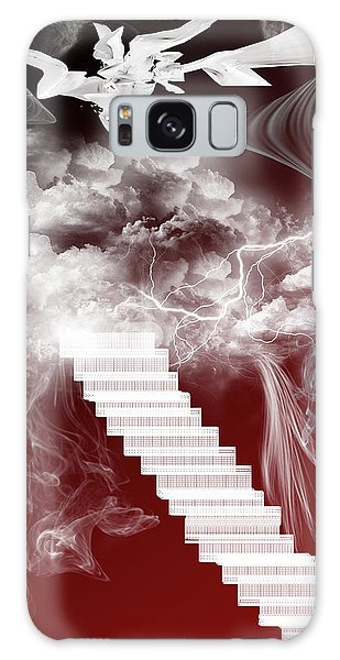Starway To Heaven Galaxy Case by Angel Jesus De la Fuente