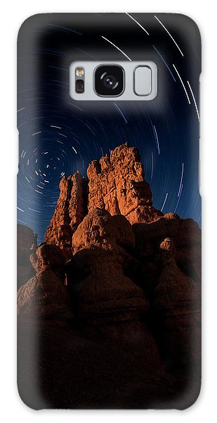 Galaxy Case featuring the photograph Stary Trails At Red Canyon by Edgars Erglis