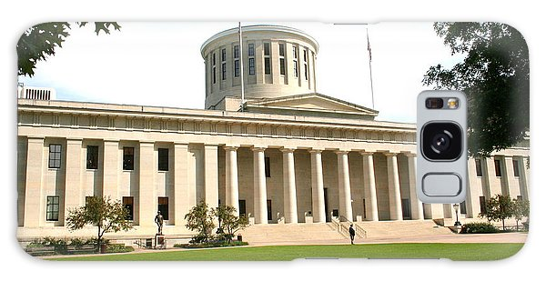 State Capitol Of Ohio Galaxy Case by Laurel Talabere
