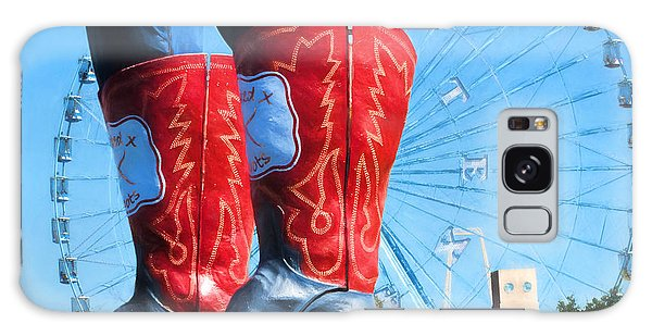 County Fair Galaxy Case - State Fair Of Texas Icons by David and Carol Kelly