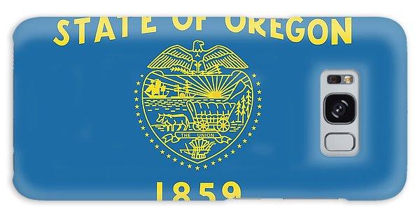 State Flag Of Oregon Galaxy Case