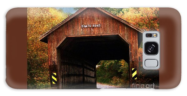 State Road Covered Bridge Galaxy Case