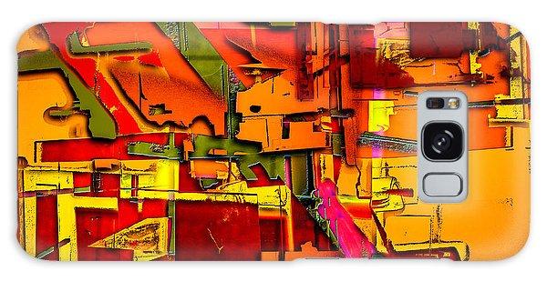 Industrial Autumn Galaxy Case by Don Gradner