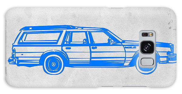 Old Road Galaxy Case - Station Wagon by Naxart Studio