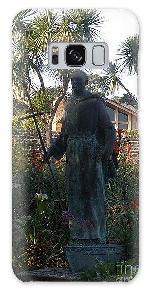 Statue At Mission Carmel Galaxy Case