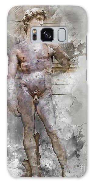 Statue Of David Galaxy Case