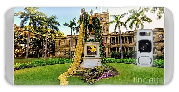 Statue Of, King Kamehameha The Great Galaxy Case