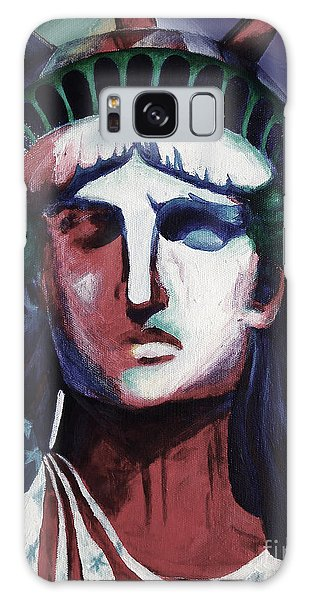 Statue Of Liberty Hb5t Galaxy Case by Gull G