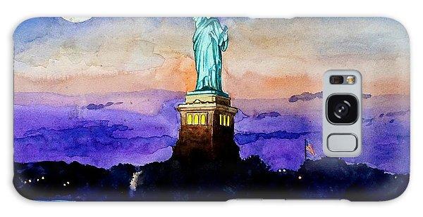 Statue Of Liberty New York Galaxy Case