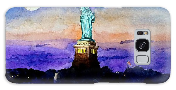 Statue Of Liberty New York Galaxy Case