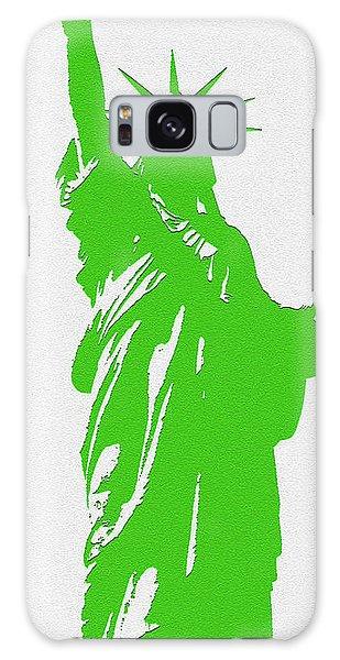 Statue Of Liberty No. 9-1 Galaxy Case