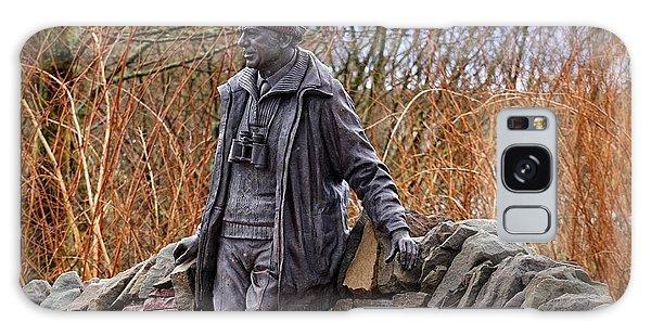 Statue Of Tom Weir Galaxy Case