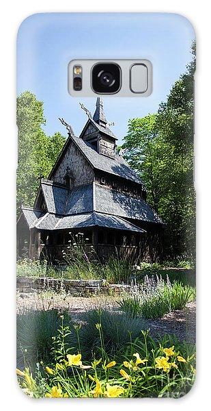 Stavkirke Church Galaxy Case