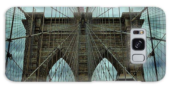 Cloudscape Galaxy Case - Steadfast - Brooklyn Bridge by Stephen Stookey