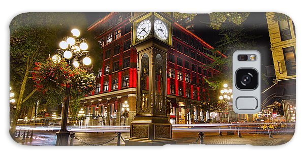 Steam Clock In Historic Gastown Vancouver Bc Galaxy Case