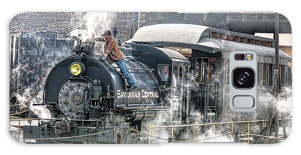 Steam Engine #30 Galaxy Case