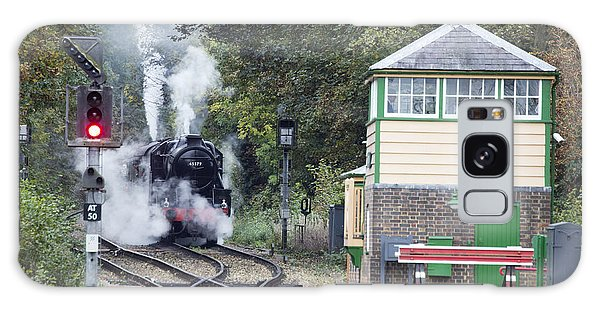 Steam Engine Approaching Alton Galaxy Case
