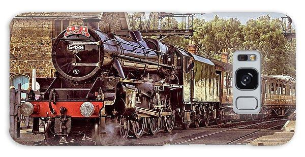 Steam Loco On Yorkshire Railway Galaxy Case