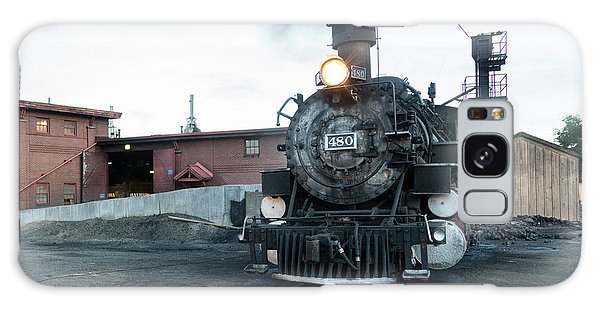Steam Locomotive In The Train Yard Of The Durango And Silverton Narrow Gauge Railroad In Durango Galaxy Case by Carol M Highsmith