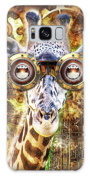 Steam Punk Giraffe Galaxy Case